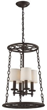 Brown Chandelier Shopstyle
