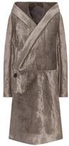 Rick Owens Sphinx Velvet Coat