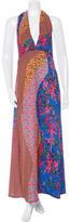 Clover Canyon Digital Print Halter Dress