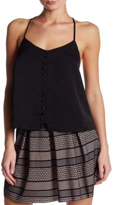 Dee Elly V-Neck Button Front Camisole