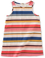 Kate Spade Sleeveless Striped Shift Dress, Multicolor, Size 7-14