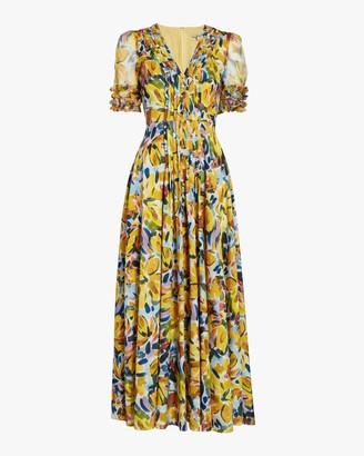 Badgley Mischka Combo Shirt Dress