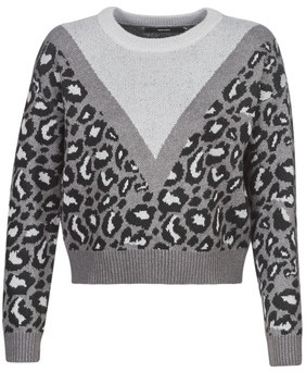Vero Moda VMLEON women's Sweater in Grey
