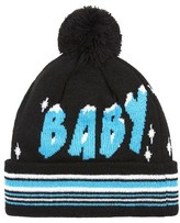 Topman Men's Ice Ice Baby Beanie - Black