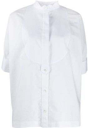Sacai Short Sleeve Poplin Shirt