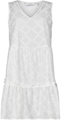 Nümph Nubethan White Dress 7220842 - white | cotton | 12 - White/White