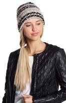 BCBGMAXAZRIA Slouchy Stripe Knit Beanie
