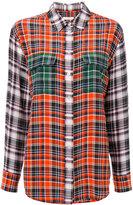 Equipment plaid shirt - women - Silk - S