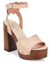 Kenneth Cole Kali Leather Platform Sandals