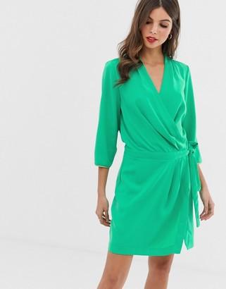 Vero Moda tie side dress