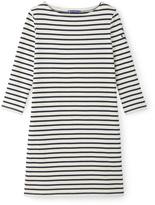 Petit Bateau Womens heavy jersey marinière dress