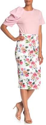 Gracia Floral Midi Skirt