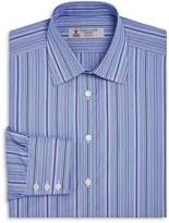 Turnbull & Asser Multi-Striped Regular Fit Dress Shirt