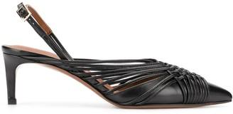 L'Autre Chose Pointed Toe Slingback 50mm Pumps