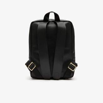 Lacoste Women's Chantaco Pique Leather Backpack