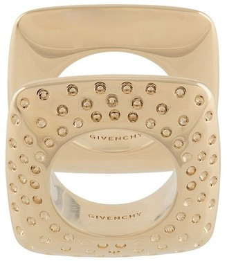 Givenchy Set Of 2 Graphic Rings