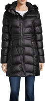 Liz Claiborne Heavyweight Puffer Jacket-Tall