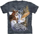 The Mountain Find 11 Owls Tee Shirt Adult