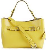 Reiss Bleecker Mini Structured Leather Tote Bag