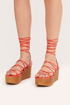 Jeffrey Campbell Rowen Wrap Wedges