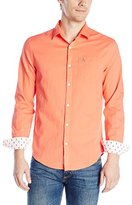Original Penguin Men's Ls Ctn/Lin Woven Shirt