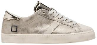 D.A.T.E Hill Low Stardust Platinum Sneaker
