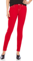 True Religion Ruby Red Super Skinny Jeans