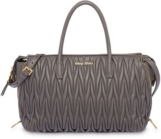 Miu Miu Avenue Travel tote bag