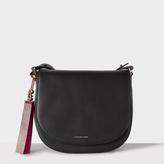 Paul Smith Women's Black Leather Saddle Bag