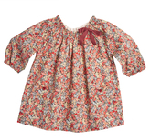 Marie Chantal Liberty Print Baby Raglan Sleeve Dress