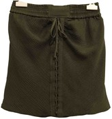 IRO Green Silk Skirts