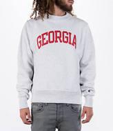 Champion Men's Georgia Bulldogs College Weave Crew Sweatshirt