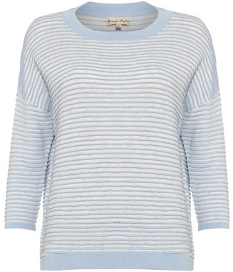 Phase Eight Candie Contrast Ripple Stitch Knit
