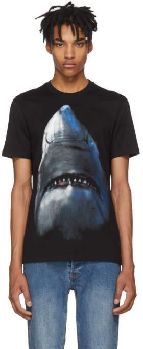 Givenchy Black Shark T-Shirt