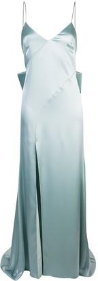 ZAC Zac Posen Eileen metallic gown