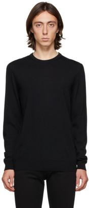 HUGO BOSS Black Wool San Paolo Sweater