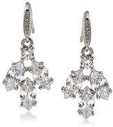 Carolee Marquee Cubic Zirconia Cluster Drop Earrings