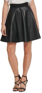 DKNY A-Line Mini Skirt