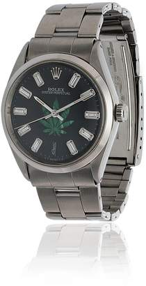 Jacquie Aiche vintage Rolex leaf diamond watch