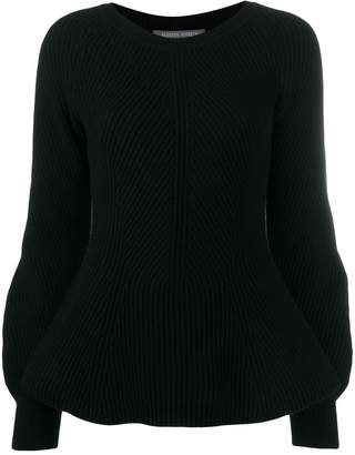 Alberta Ferretti puff sleeve sweater