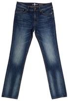 7 For All Mankind 'Slimmy' Slim Straight Leg Jeans (Toddler Boys & Little Boys)