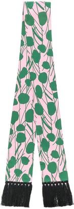 La DoubleJ Simple Moses Rosa skinny scarf