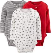 Carter's 3 Pack Bodysuits (Baby) - Assorted