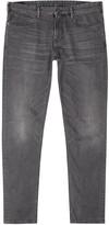 Armani Jeans J06 Grey Slim-leg Jeans