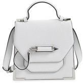 Mackage Mini Rubie Leather Shoulder Bag - White