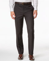Lauren Ralph Lauren Men's Classic-Fit Brown Solid Dress Pants