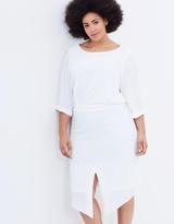 Junarose Helena 3/4 Sleeve Below Knee Dress