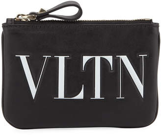 Valentino Garavani VLTN Leather Coin Purse