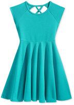 Roxy Flared Skirt Dress, Little Girls (2-6X)
