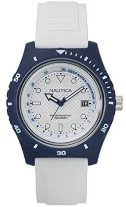 Nautica Men's Ibiza Quartz Sport Watch with Silicone Strap